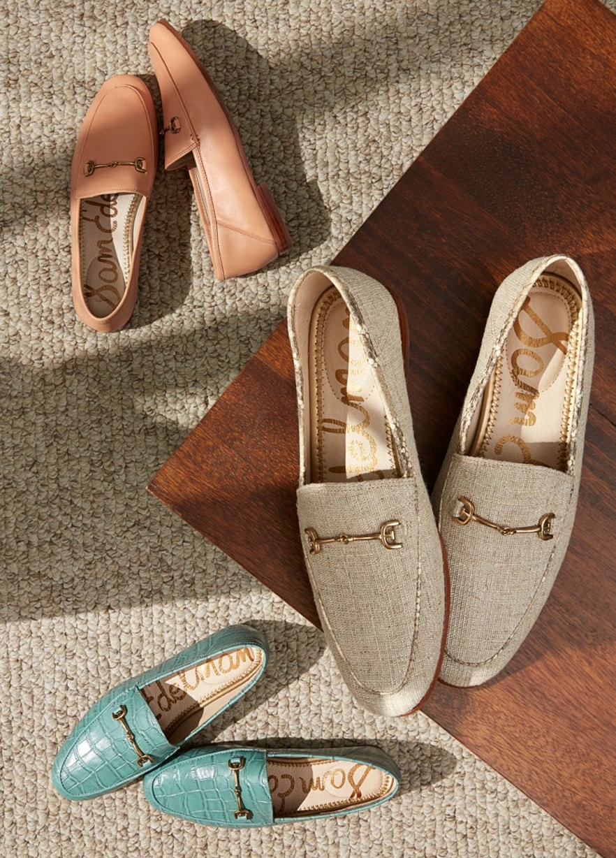 Sam Edelman's Loraine loafer is a fashion classic and available in a wide range of colors