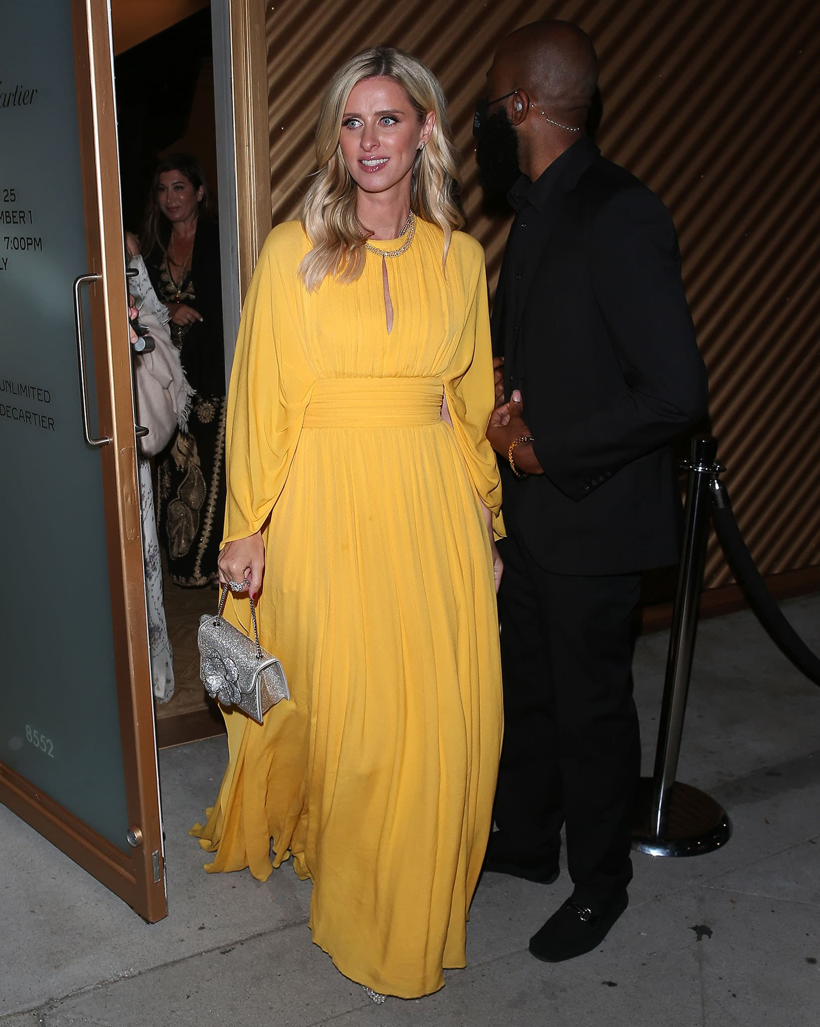 Nicky Hilton leaving Cartier's Clash de Cartier event in West Hollywood on August 25, 2021