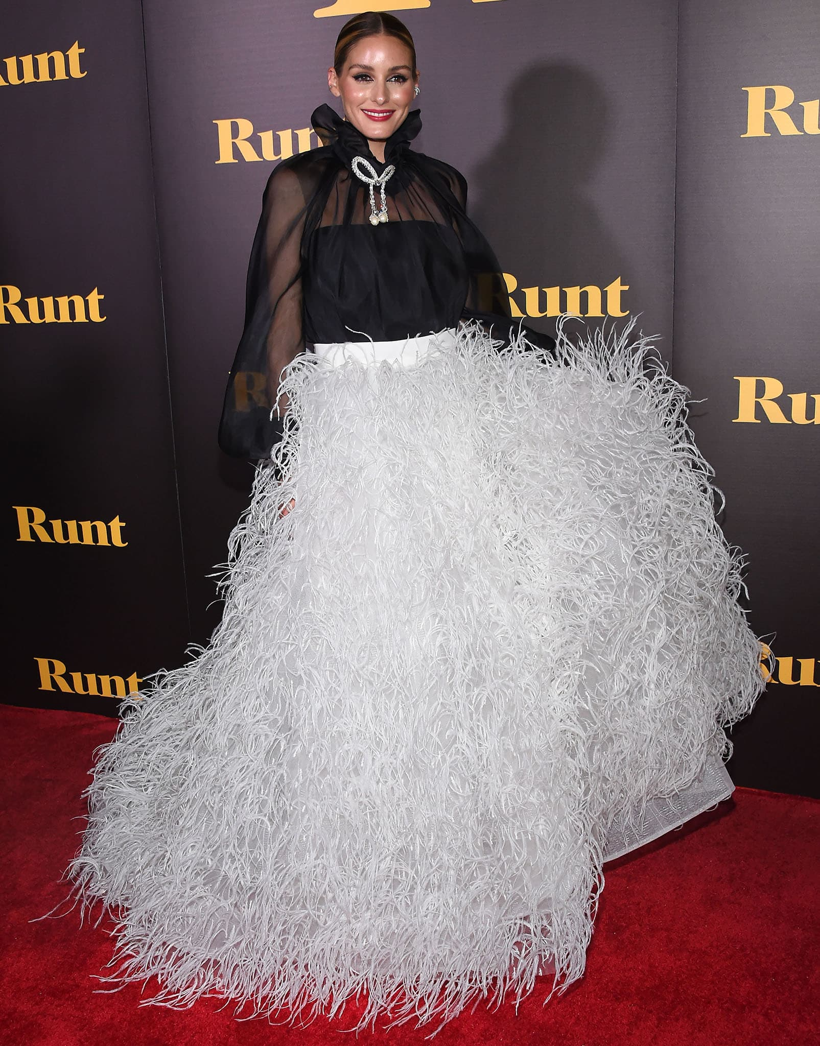 Olivia Palermo attends the Runt Los Angeles premiere at TCL Chinese 6 Theater in Hollywood on September 23, 2021
