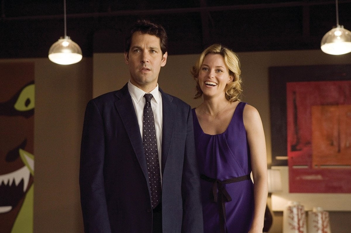 Paul Rudd as Danny and Elizabeth Banks as Beth in the 2008 American comedy film Role Models