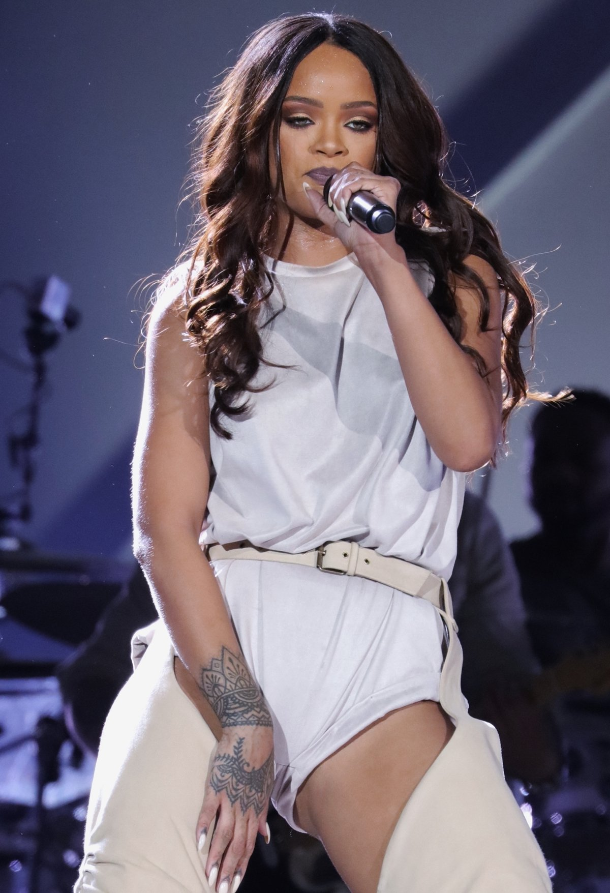 Barbadian singer Robyn Rihanna Fenty is a singer, actress, fashion designer, and businesswoman