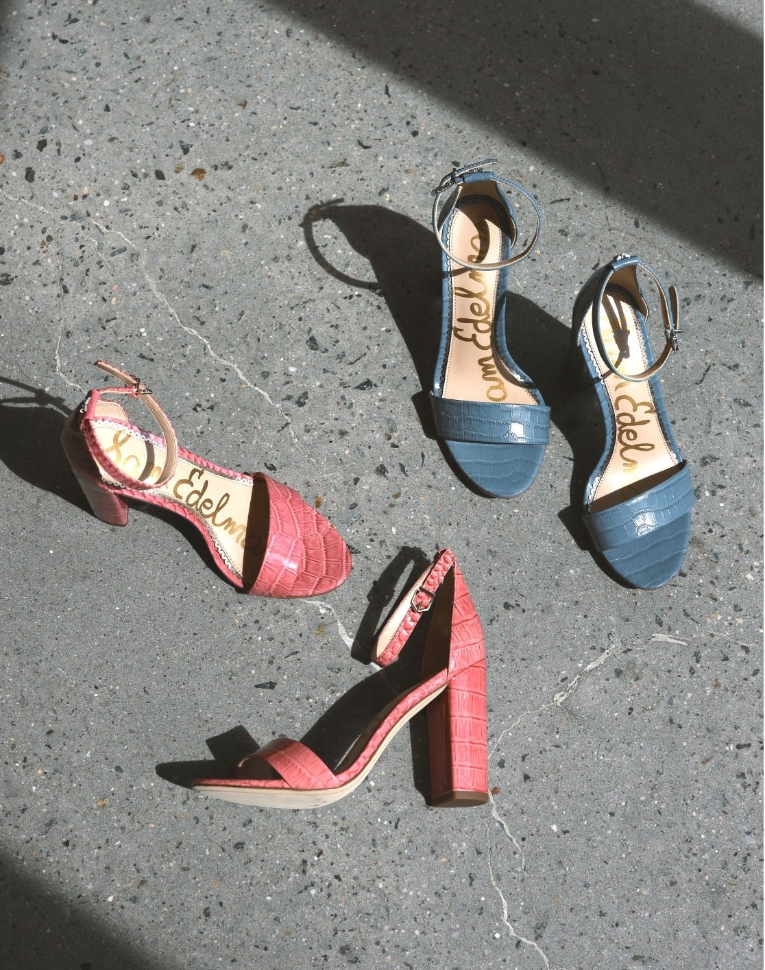 Sam Edelman's comfortable Yaro sandal is a wardrobe must with an ankle strap and a block heel