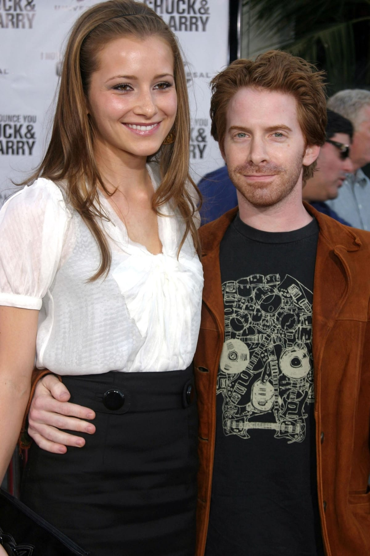 cSeth Green and Candace Bailey dated for about a year before splitting in November 2007