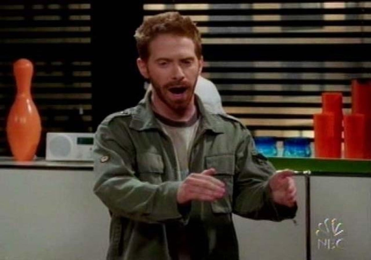 Seth Green as former child star Randall Finn in Friends with Benefits, the 23rd episode of the seventh season of the American sitcom television series Will & Grace