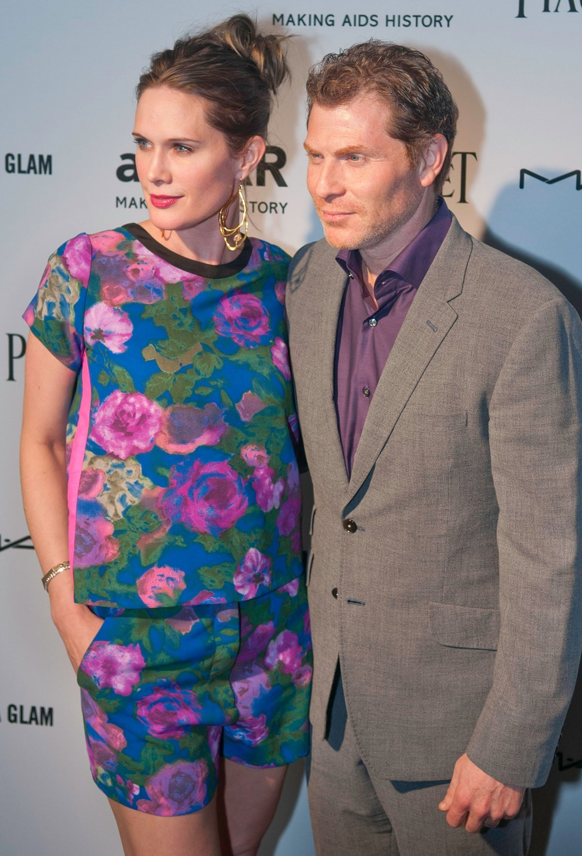"""Stephanie March and Bobby Flay filed for divorce in 2015 and alleged that Flay had an affair with his assistant, Elyse Tirrell, and """"Mad Men"""" actress January Jones"""