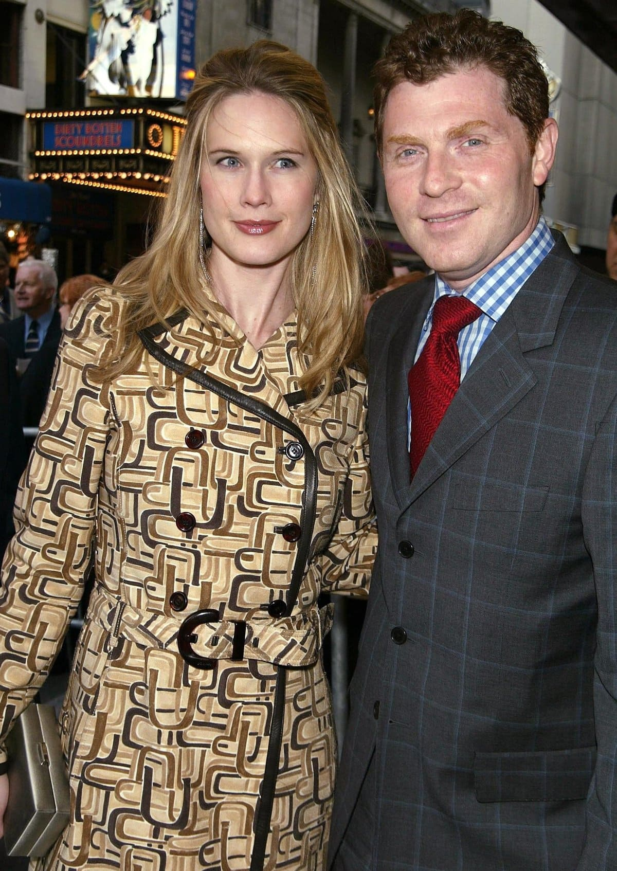Stephanie March was introduced to Bobby Flay by their mutual friend, actress Mariska Hargitay