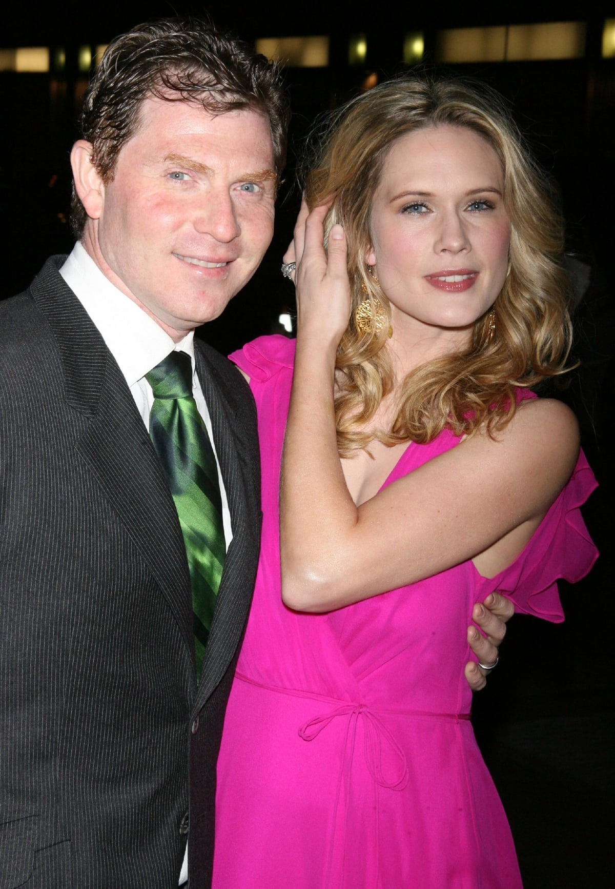 After dating for five years, Bobby Flay and Stephanie March were married on February 20, 2005, at St. Peter's Episcopal in New York City by Rev. K Dennis Winslow