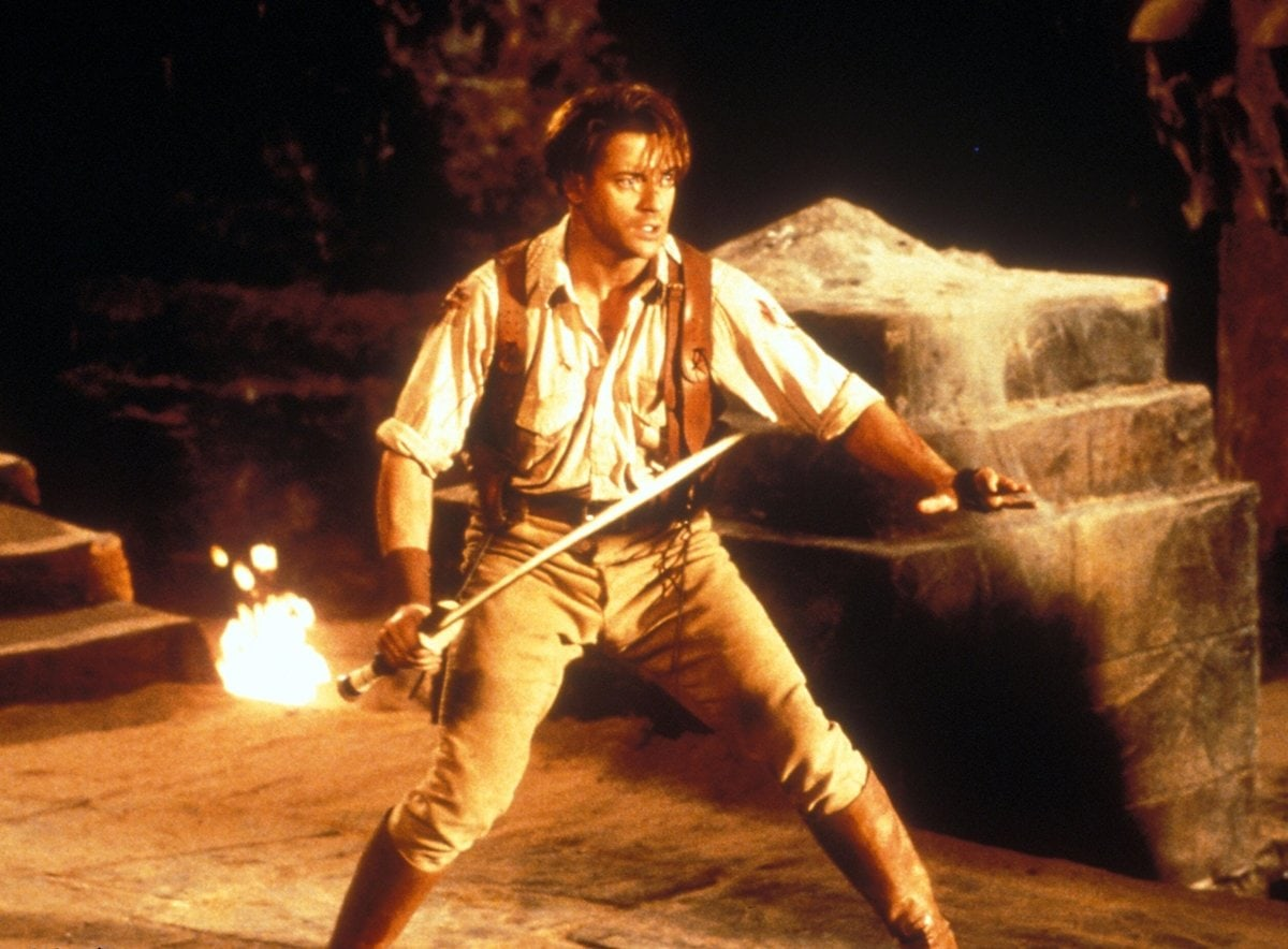 Brendan Fraser as Rick O'Connell in the 1999 American film The Mummy