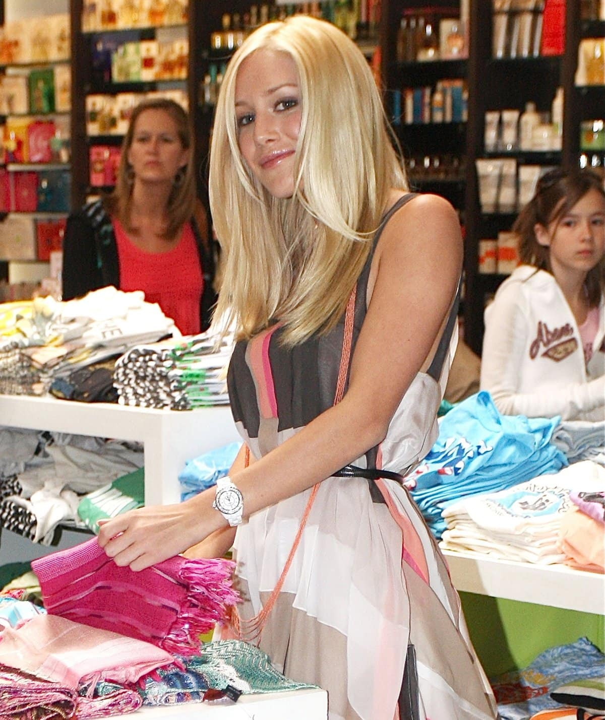 Heidi Montag at the launch of her new clothing line at Kitson on Robertson Boulevard in Los Angeles