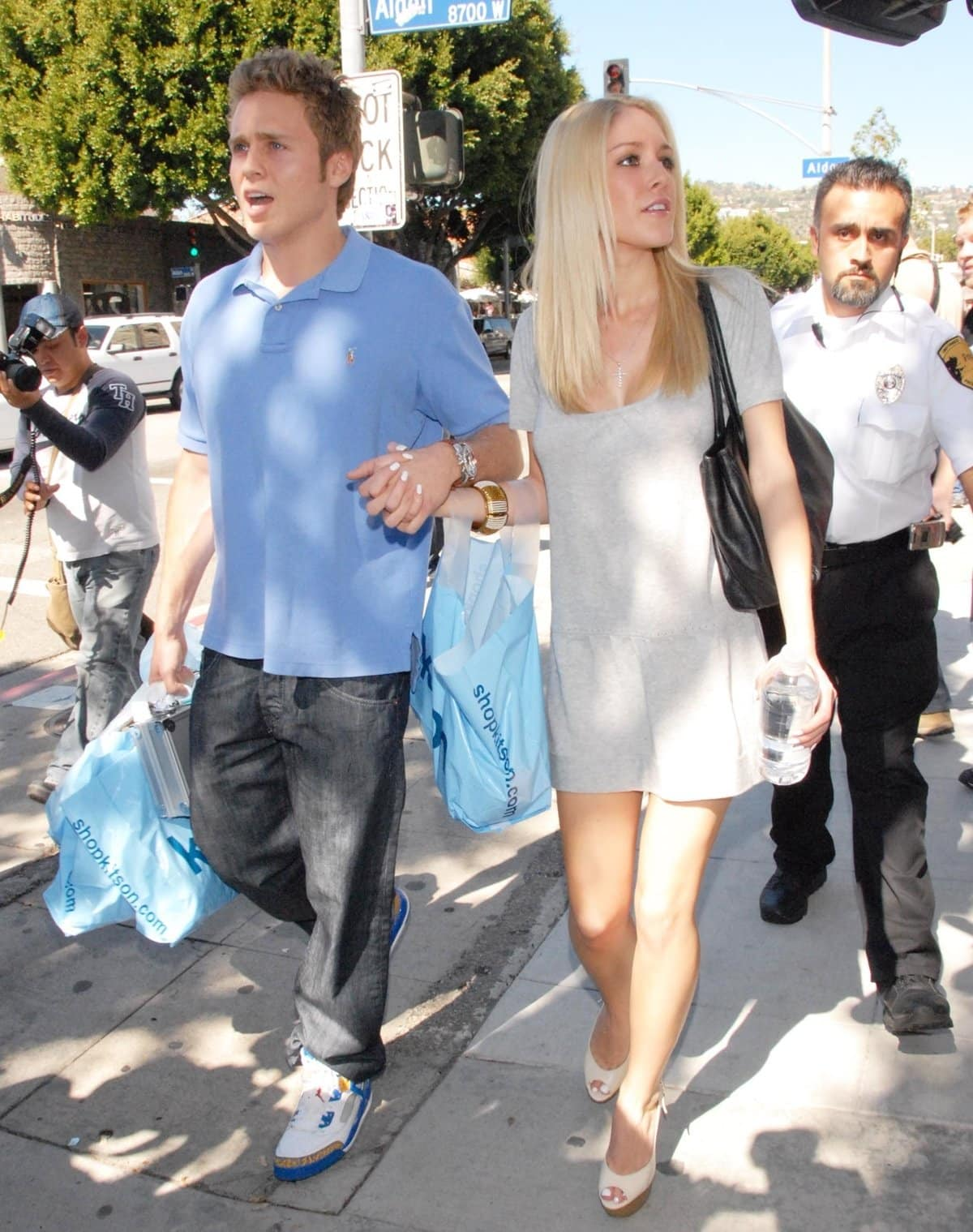 Heidi Montag met her boyfriend Spencer Pratt while filming The Hills in 2006