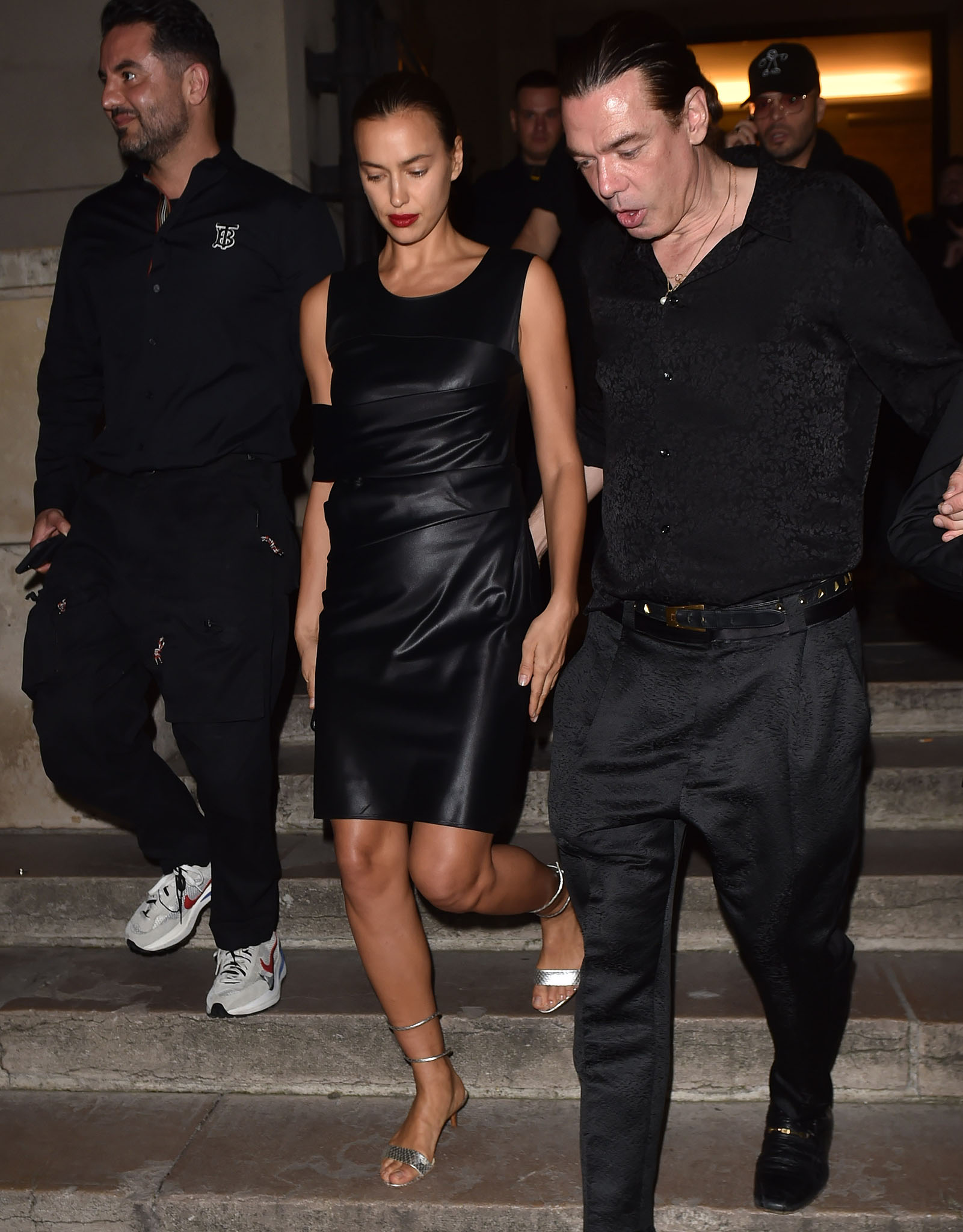 Irina Shayk at the launch of CR Fashion Book's latest Parade issue on September 30, 2021