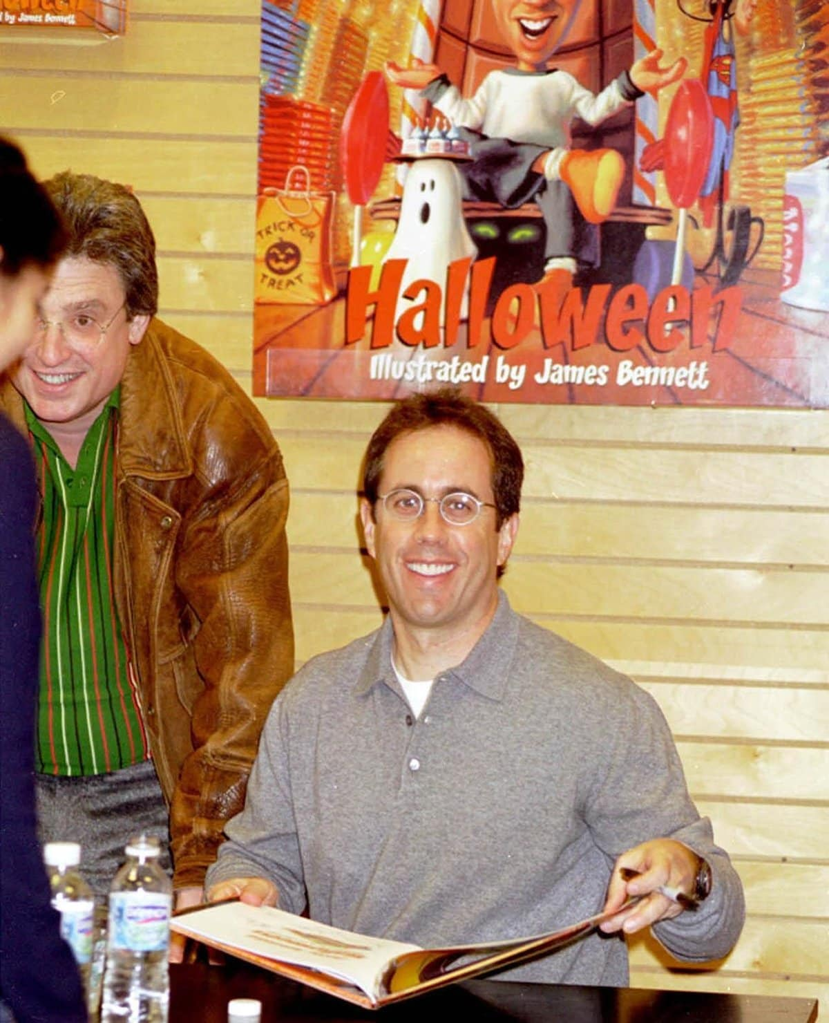 """Jerry Seinfeld at a book signing for his""""Halloween"""" children's book at Barnes & Noble in New York City"""