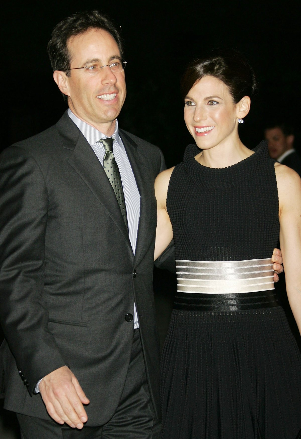 Jerry Seinfeld first met Jessica Seinfeld ( born Nina Danielle Sklar) in August 1998 at a Reebok gym on the Upper West Side of Manhattan