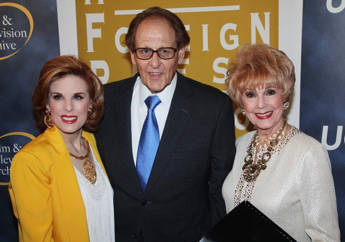 "Pictured with Katharine ""Kat"" Kramer and Karen Kay Sharpe in 2013, longtime member Philip Berk"