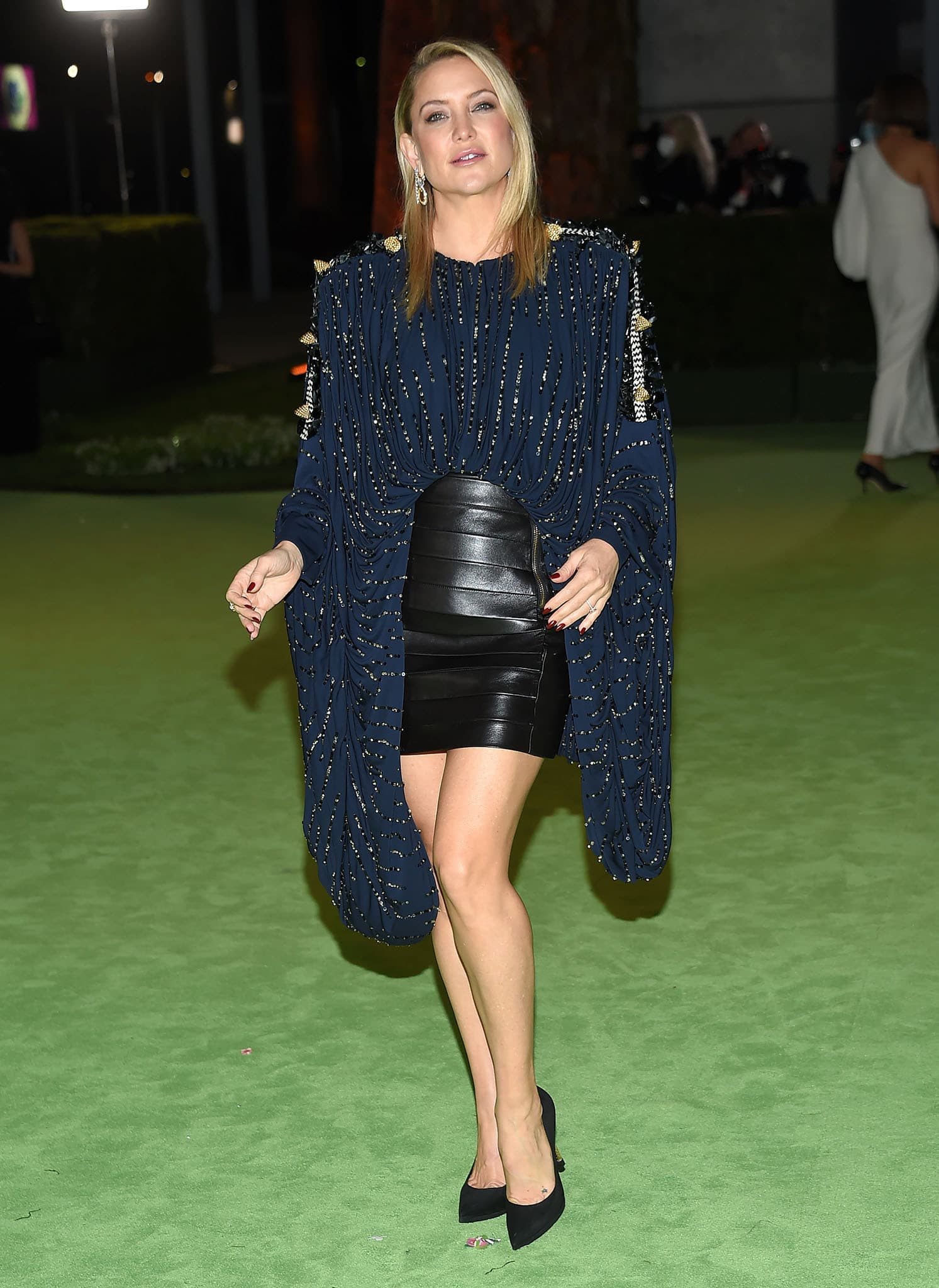 Kate Hudson flaunts her long legs at The Academy Museum Of Motion Pictures Opening Gala