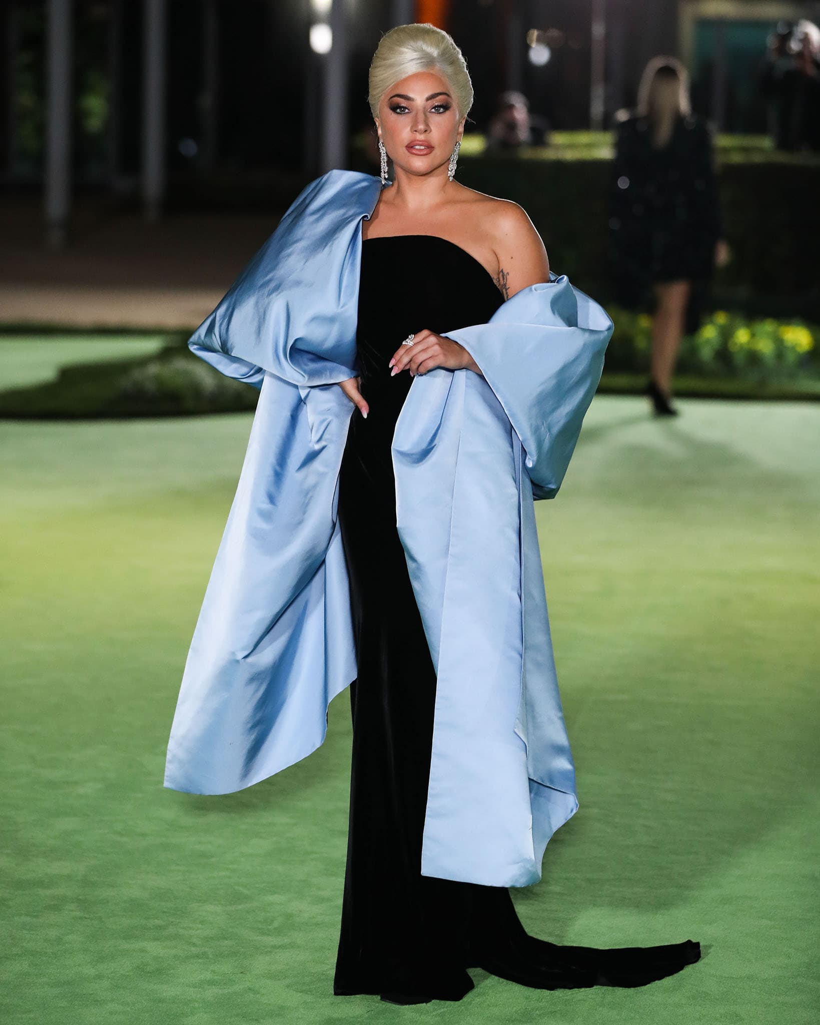 Lady Gaga attends the Academy Museum of Motion Pictures Opening Gala in Los Angeles on September 25, 2021