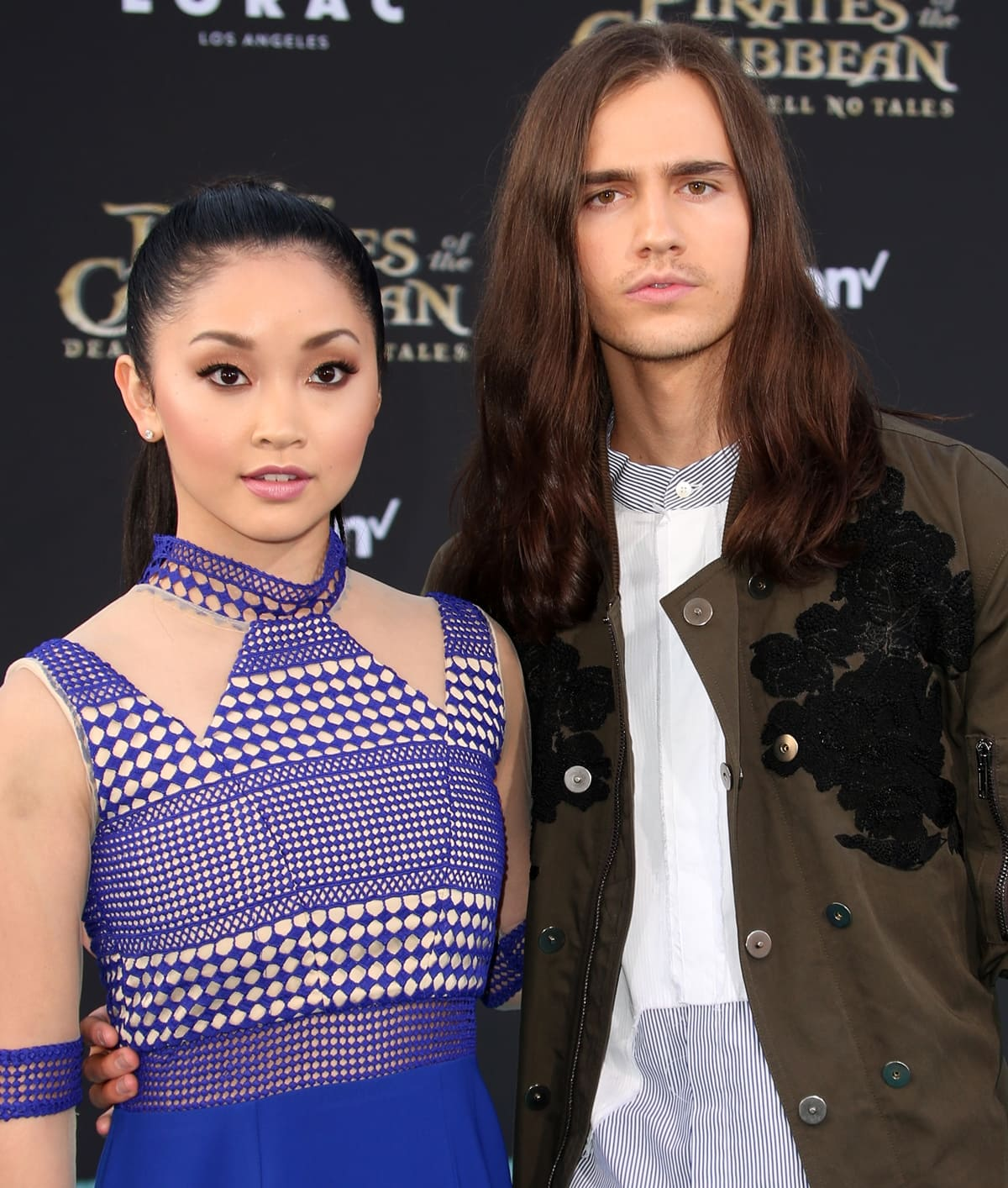 Lana Condor met her boyfriend Anthony De La Torre in 2015 at an Emmy nominees reception in Beverly Hills