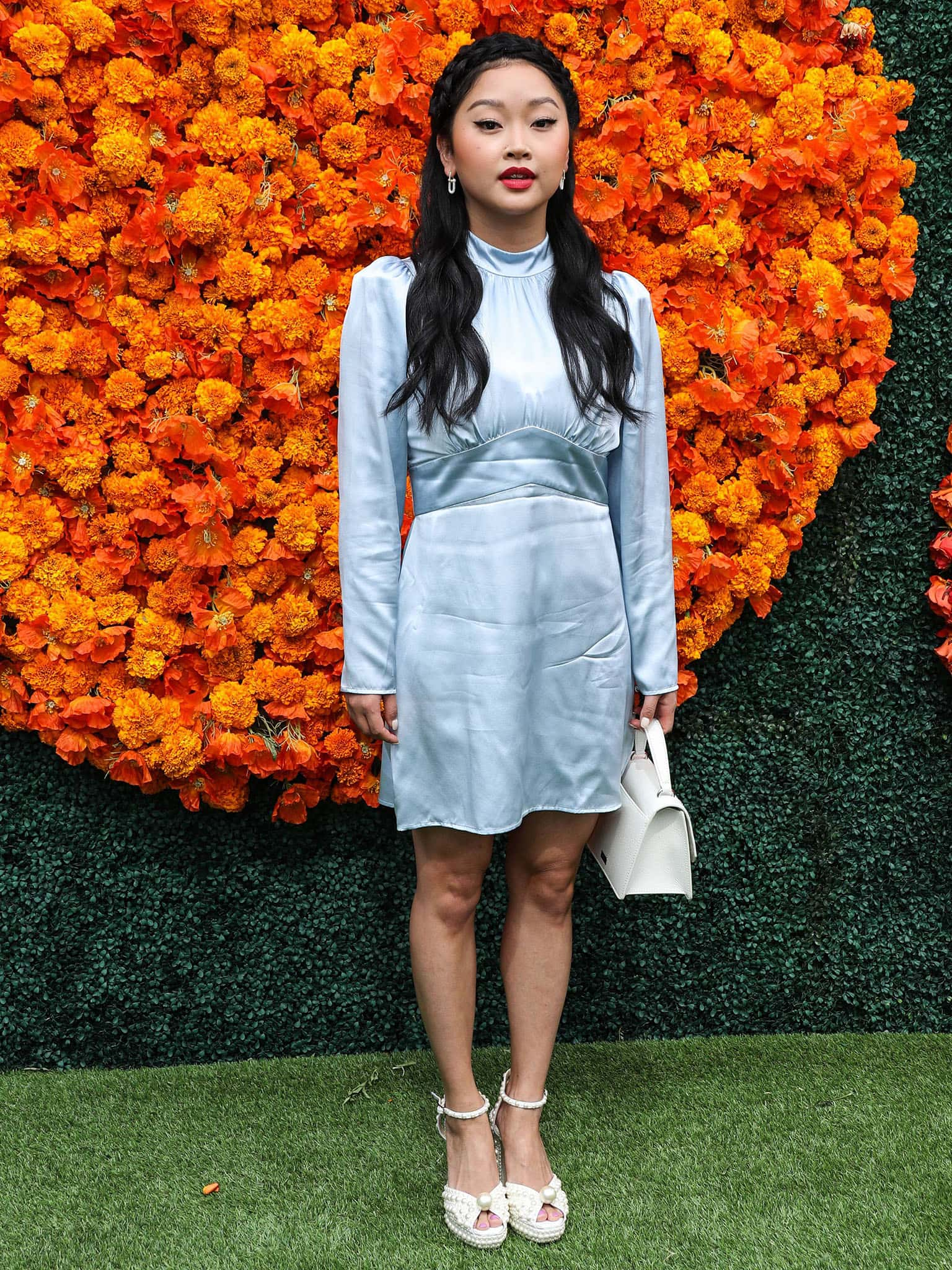 Lana Condor at the Veuve Clicquot Polo Classic Los Angeles 2021 held at the Will Rogers State Historic Park on October 2, 2021