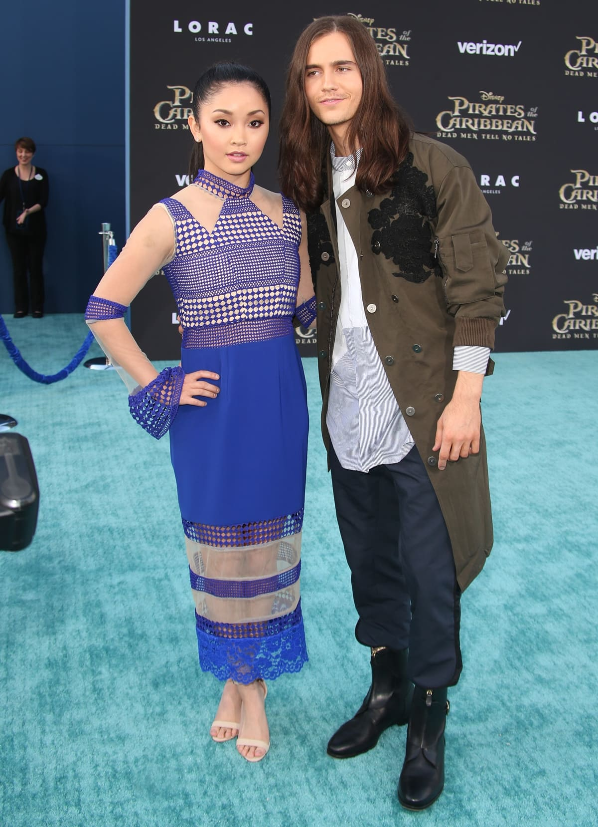 Lana Condor is three years younger and significantly shorter than her boyfriend Anthony De La Torre