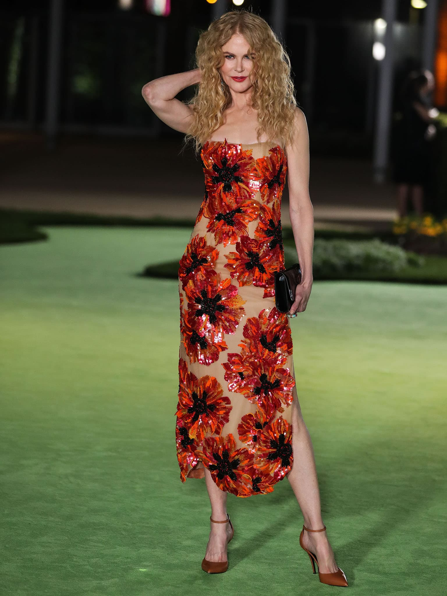 Nicole Kidman at The Academy Museum of Motion Pictures Opening Gala on September 24, 2021