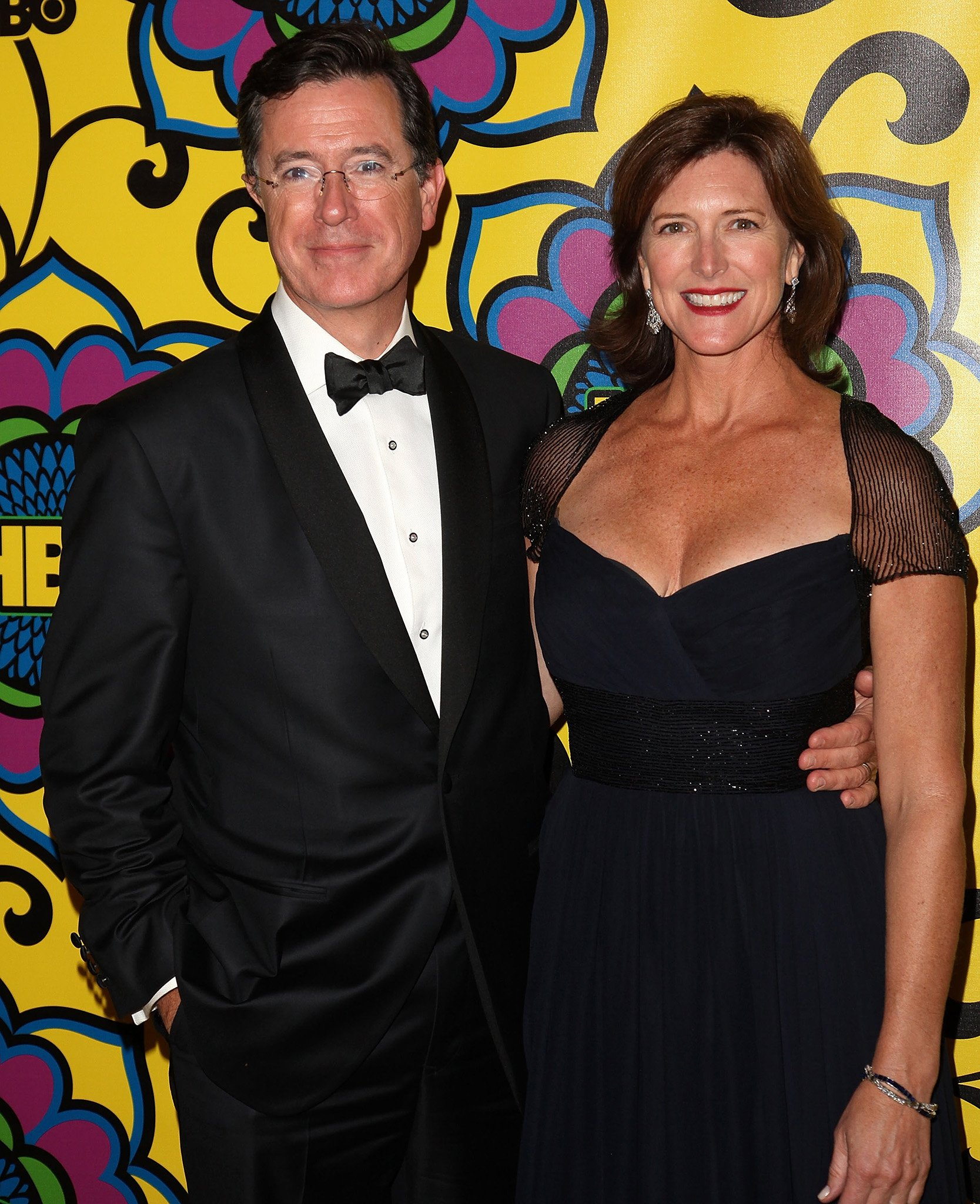 Stephen Colbert said that from the moment he saw Evelyn, he knew he was going to marry her
