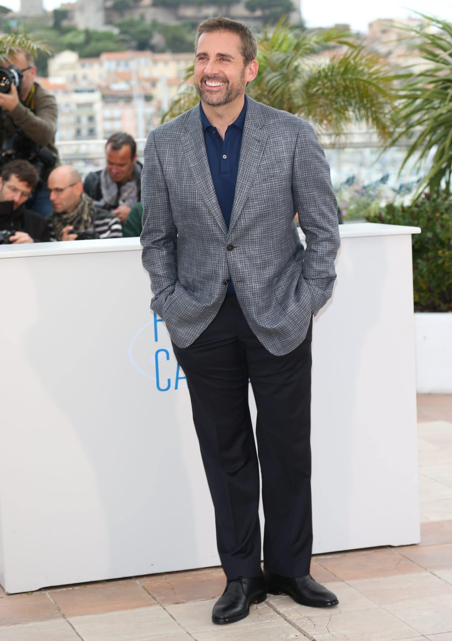 Steve Carell received Academy Award and Golden Globe nominations for his role in the biographical sports drama Foxcatcher in 2014
