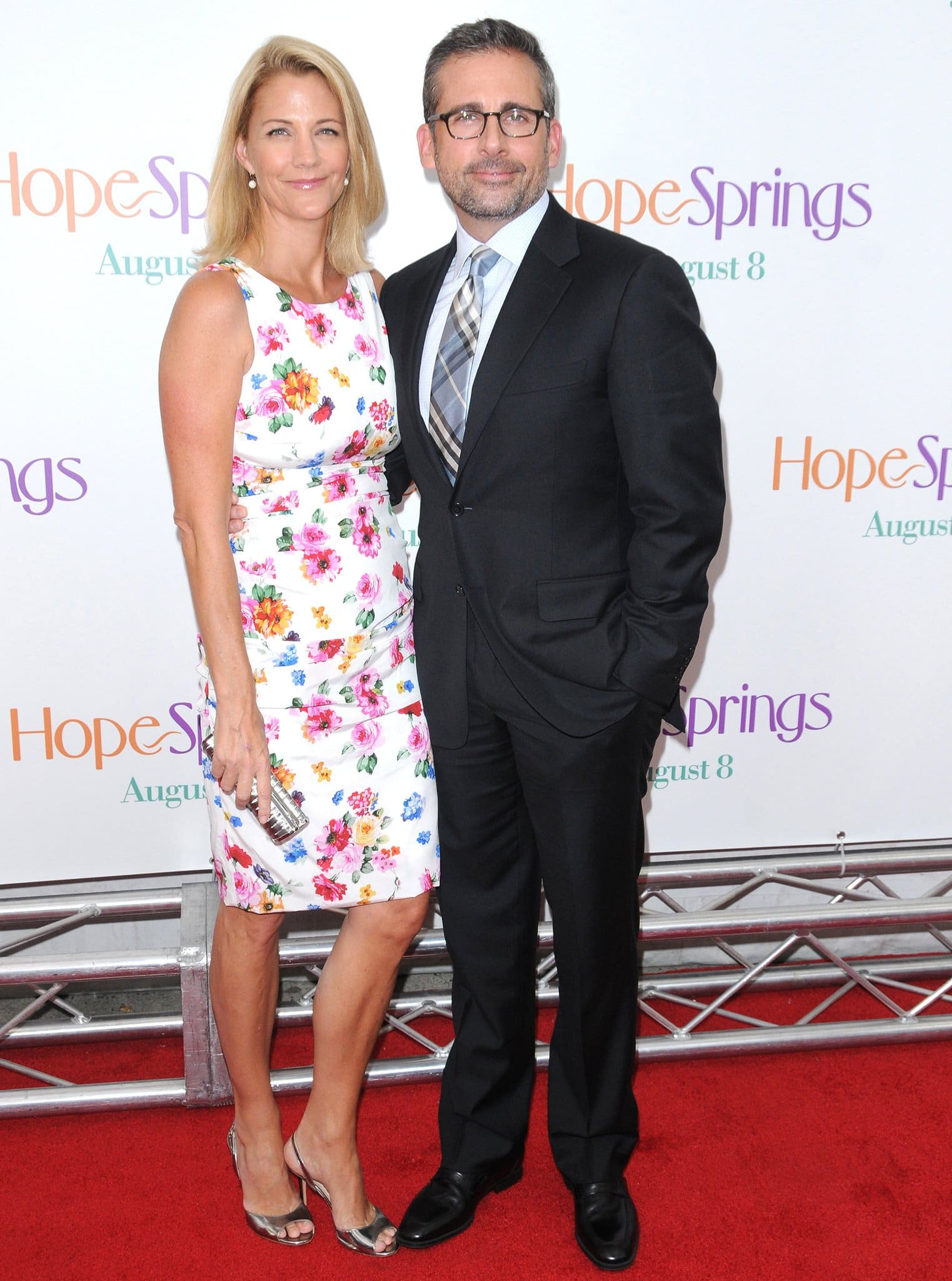 Nancy Carell and Steve Carell share two kids together