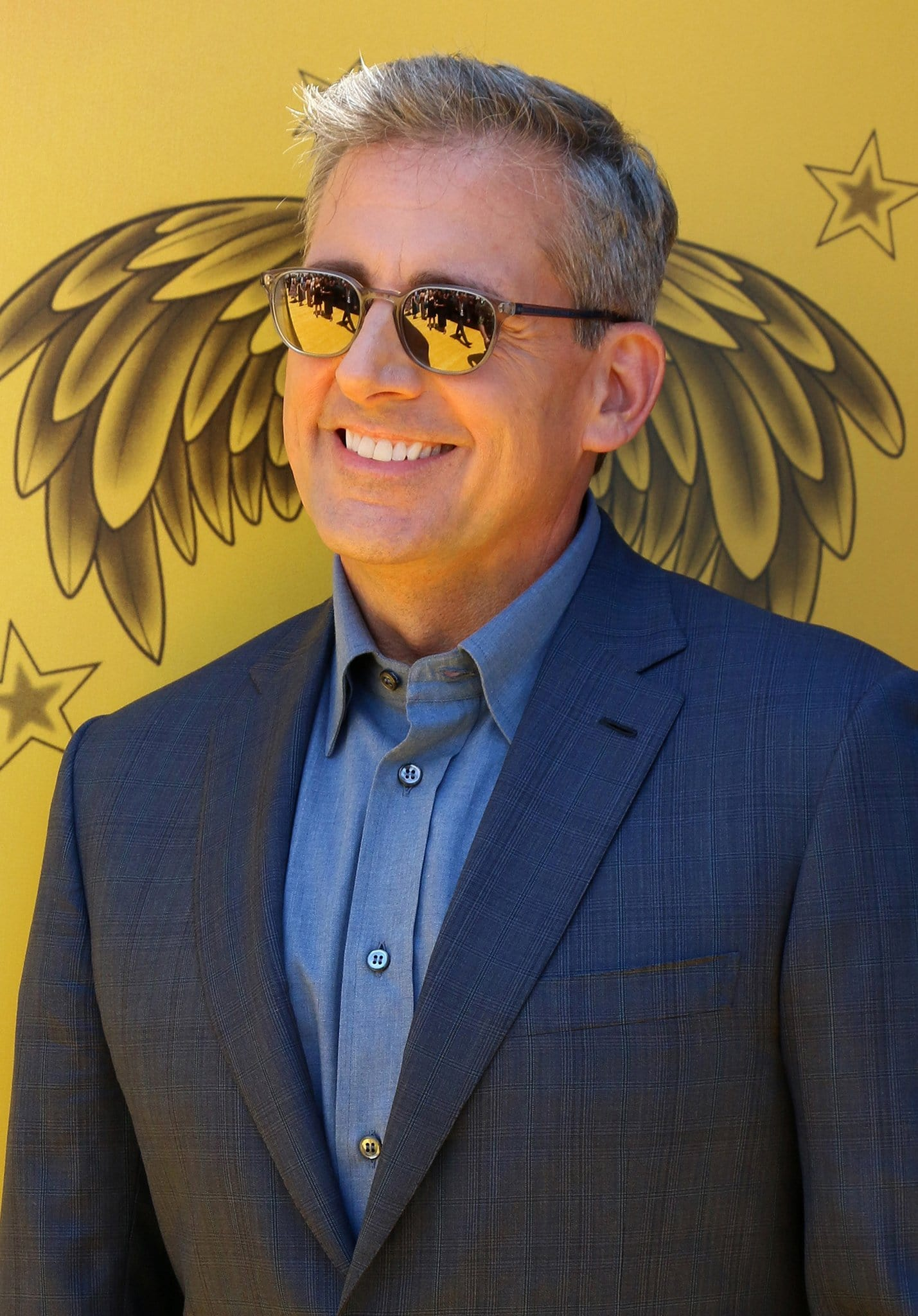 Steve Carell voiced Gru in the Universal CGI film Despicable Me franchise