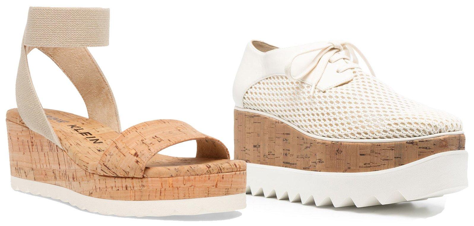 Anne Klein Noa Wedge Sandal, Stella McCartney Elyse platform lace-up shoes